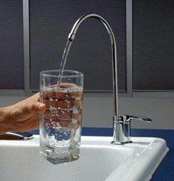 Установка фильтра очистки воды город Славгород