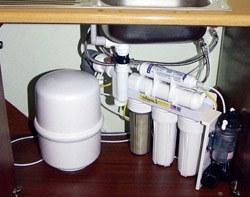 Установка фильтра очистки воды в Славгороде, подключение фильтра для воды в г.Славгород